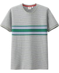 Uniqlo Men Crewneck Short Sleeve T-Shirt By Mb - Lyst