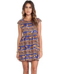 Mink Pink Tiger Trail Tank Dress - Lyst