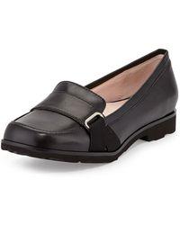 Taryn Rose Jaz Napa Leather Loafer - Lyst