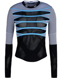 Alexander Wang Long Sleeve Jumper - Lyst