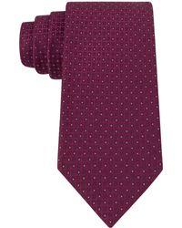 Calvin Klein Pindot Dot Slim Tie - Lyst