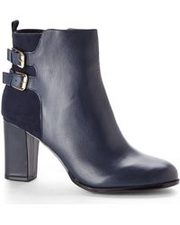 Kenneth Cole Reaction Navy Crossnight Short Boots - Lyst