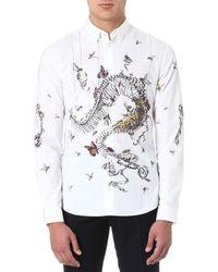 McQ by Alexander McQueen Butterfly Spine Shirt - Lyst
