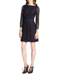 Tory Burch Renny Guipure Lace Dress - Lyst