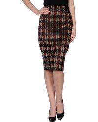 Gucci Black Skirt - Lyst