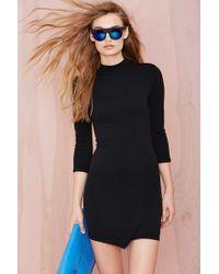 Nasty Gal Black Rene Dress - Lyst