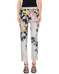 Giamba - Denim Trousers - Lyst