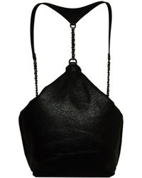 Alice + Olivia Leather Backpack - Lyst