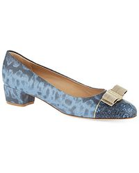 Ferragamo Vara Luxury Court Shoes - For Women - Lyst