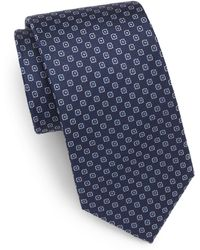 English Laundry - Neat Silk Tie - Lyst
