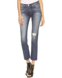 3x1 Wm3 Retro Straight Leg Jeans Vintage Ripper - Lyst