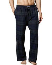 Polo Ralph Lauren Ralph Lauren Plaid Flannel Pajama Pants - Blue
