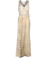 Blugirl Blumarine Long Dress - Lyst