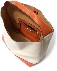 Marni Patchwork Leather Hobo Shoulder Bag - Brown
