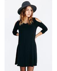 LNA Lucia Cutout Tee Dress - Lyst