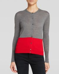 Marc By Marc Jacobs Cardigan - Rhea Cashmere Color Block - Lyst