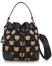 Moschino Bear Bucket Bag - Lyst