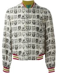 Jean Paul Gaultier Junior Gaultier Light Bomber Jacket - Lyst