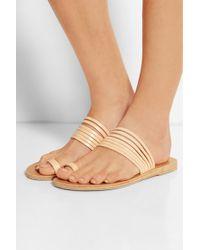 Valia Gabriel - Miramar Leather Sandals - Lyst