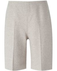 Carven Tailored Shorts - Natural