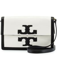 Tory Burch Jessica Leather Shoulder Bag - Lyst
