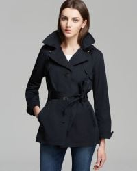Ellen Tracy - Rain Trench Single Breasted - Lyst