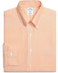 Brooks Brothers Milano Fit Bengal Stripe Dress Shirt - Lyst