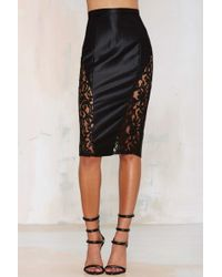Misha Collection - Collection Vivien Lace Skirt - Lyst