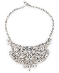 House of Lavande - 1950s Vintage Faceted Bib Necklace - Lyst