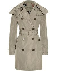 Burberry - Balmoral Hooded Trench Coat - Lyst
