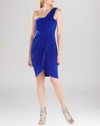 BCBGMAXAZRIA Dress - Juliette One Shoulder - Lyst