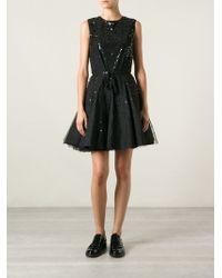 RED Valentino Star Embellished Dress - Lyst