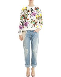 Mary Katrantzou Fitted Sweater multicolor - Lyst