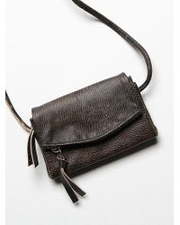 Free People Black Castle Crossbody - Lyst