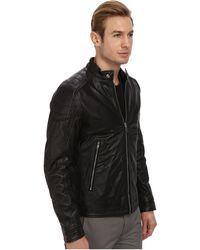 Diesel Black L-monike Jacket - Lyst