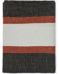 Zara Striped Woven Scarf - Lyst