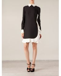 Valentino Ruffled Dress - Lyst
