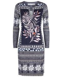 Diane von Furstenberg - Reina Floral Tunic Dress - Lyst