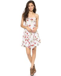 Free People Circle Of Flowers Dress Sage Combo - Lyst