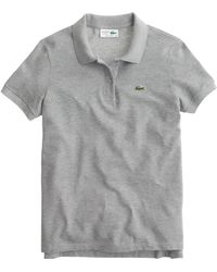 Lacoste Polo Shirt gray - Lyst