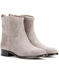 Jimmy Choo Harley Leather Ankle Boots - Lyst