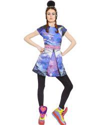 Manish Arora Embellished Satin Silk Duchesse Dress - Lyst