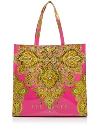 Ted Baker Tote - Jewel Paisley Print Large Icon - Lyst