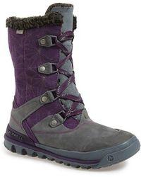 Merrell | 'silversun' Lace-up Waterproof Boot | Lyst