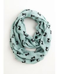 Ana Accessories Inc | Cat Person Circle Scarf In Mint | Lyst