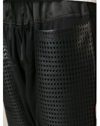 Tsumori Chisato - Perforated Pocket Track Trousers - Lyst
