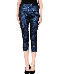 Les Copains Casual Pants blue - Lyst