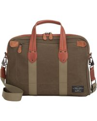 Rag & Bone Green Derby Briefcase - Lyst