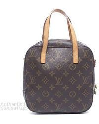 Louis Vuitton Preowned Spontini Hand Bag - Lyst