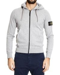 Stone Island Sweater Sweetshirt Zip with Hoodie - Lyst